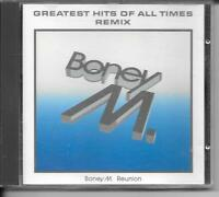 CD COMPIL 12 TITRES--BONEY M--GREATEST HITS OF ALL TIMES - REMIX