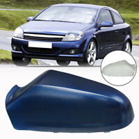For Vauxhall Astra H 2005-2009 Wing Mirror Cover Painted Blue N/S Passenger Left