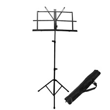 ChromaCast Cc-Mstand Folding Music Stand with Carry Bag New