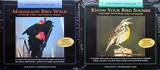 KNOW YOUR BIRD SOUNDS & MARSHLAND Vol  II, 2 CDs, NEW Lang Elliott Sealed