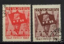 Albania 1961 SG#684-5 Workers Party Anniv Used Set
