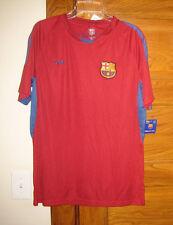 Fcb Barcelona Red Soccer Futbol Jersey Official Merchandise S L Xl