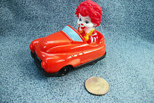 2011 McDonald's Ronald in Red Car Happy Meal Toy
