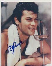TONY CURTIS original signed color 8x10 w/ COA