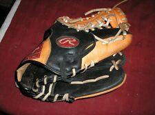"Rawlings RCS175NO Leather Shell Baseball Glove RHT 11-3/4"""