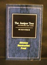 THE JUNIPER TREE Peter Straub US UNCORRECTED PROOF / ARC 1st ED Subterranean