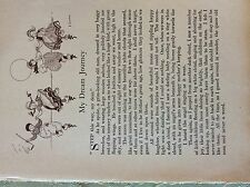 M17b1 ephemera 1920s short story my dream journey emily klickmann
