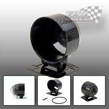 DASHBOARD GAUGE CUP MOUNT BLACK HOLDER POD FOR 60mm GAUGES