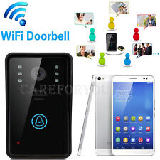 Wireless Wifi Remote Video Camera Phone Intercom Door Bell Monitor Home Security