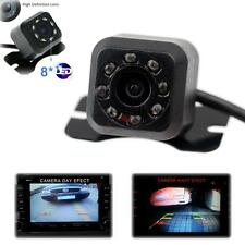 8 LED CMOS Car Rear View 170° Angle Night Reverse Backup Parking HD Camera