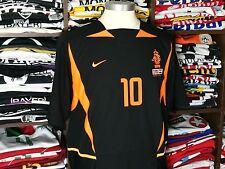 HOLLAND away 2002/04 shirt KLUIVERT #10 Ajax-Barcelona-Milan-Netherlands-Jersey
