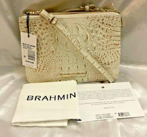 Brahmin Perri Crossbody Canvas Melbourne MSRP $185 M18 151 00486