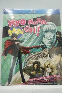 Kyo Kara Maoh Season 3 Blu Ray Discotek Media Official Anime New Sealed USA