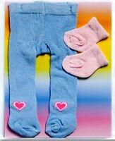 Puppen Kleidung Strumpfhose + Söckchen für 35 - 45 cm Puppen  475 Heless...