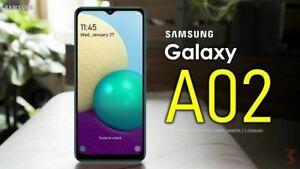 """SAMSUNG GALAXY A02 32GB DUAL SIM 4G LTE 6.5"""" UNLOCK TO ALL NETWORK SMARTPHONE"""