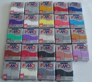 Fimo effect Modelliermasse ofenhärtend 57gr -  Farbe frei wählbar 3,14€/100gr