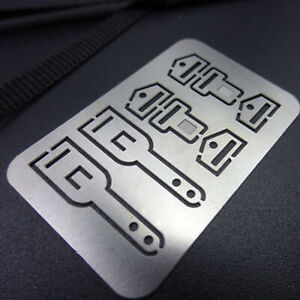 CarSeat Belt Model Etched Piece for 1/14 Tractor Mudhead Model