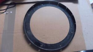 MECCANO  Black Large Flanged Ring No 167b