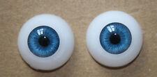 Reborn Baby Dolls Eyes 22 mm Blue Half Round Acrylic Eyes Accessories