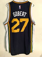 Adidas Swingman 2015-16 NBA Jersey Utah Jazz Rudy Gobert Navy sz L