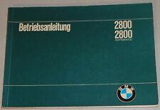 Betriebsanleitung BMW E3 2800 / 2800 automatic Stand 06/1969