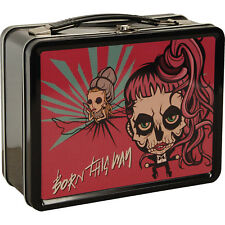 Official - Lady Gaga Born This Way Cartoon Tin Lunch Box