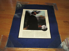 """VINCE LOMBARDI """"The Will to Win - Remarkable Moments"""" Poster GREEN BAY PACKERS"""