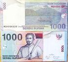 """BILLETE """" INDONESIA """" 1000 RUPIAS AÑO 2009 UNC PLANCHA"""