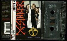 X-Sinner Peace Treaty USA Cassette Tape Christian Hair Metal