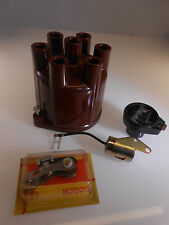 Zündungs Set Kappe Kontakt Finger Kondensator Opel Commodore GS/E 2,8 L D.Remy