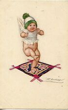CARTE POSTALE / POSTCARD / ILLUSTRATEUR MAUZAN / ENFANT / BEBE
