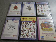 Amazing Designs Embroidery: Nancy Zieman LOT OF 5 CD-ROM AND 1 EXTRA BUTTERFLIES