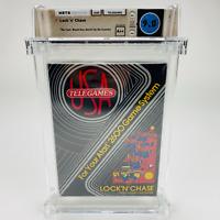 Lock 'n' Chase - Atari 2600 TELEGAMES 1983 Black Box Factory Sealed WATA 9.0 A++