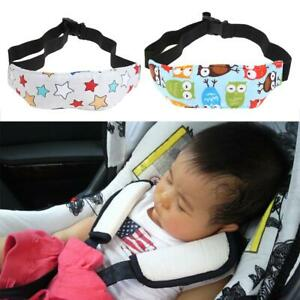 Safety Baby Kids Car Seat Sleep Nap Aid Head Band Support Holder Belt