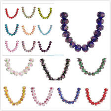 8 10 12mm Crystal Rose In Glass Bead Crafts Spacer Finding Jewelery Making 10Pcs
