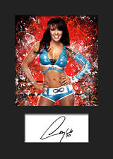 LAYLA #1 (WWE) Signed (Reprint) Photo A5 Mounted Print - FREE DELIVERY