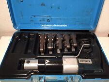 Geberit PWH 40 Pressmaschine Presszange Presse mit 5 Mepla Pressbacken Rechnung