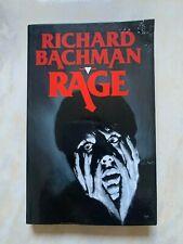 ROMAN RAGE de STEPHEN KING /BACHMAN /Roman rare car n'est plus édité depuis 1997