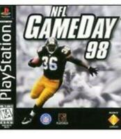 NFL GameDay 98 Playstation Game PS1 Used Complete