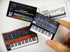 MiniMoog, ARP Odyssey analog  synth Roland TR-808, TR-909 2D MAGNET SET