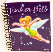 Disney Tinkerbell Fairy Small Spiral Notebook Autograph Book