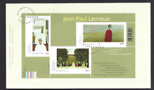 Canada  FDC  # 2068 SS    Jean-Paul Lemieux    2004  New Fresh Unaddressed