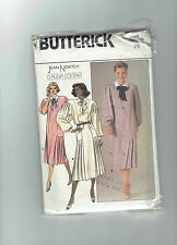 BUTTERICK pattern 3525 dress business Sz 10 J Nidetch Claudia Cooper vintage 80s