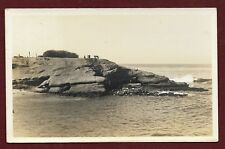 Postcard RPPC Coastal Scene By G C String, Photographer, La Jolla California