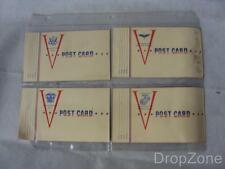 Set of 4 Original c.WWII US Army, Navy, Marine Corps and Air Force Postcards