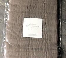 Restoration Hardware Petite Pleat Cotton Sateen Long Lumbar Sham 10x28 $69
