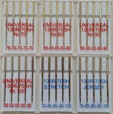 TOP-SORTIMENT 30 Nähmaschinennadeln  70-80-90-100  Jersey Stretch 130/705H nähen