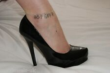 Premium 'HOTWIFE' Anklet Ankle Chain Jewellery Fetish Cuckold BBC Queen of Spade