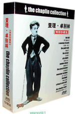 Classic  Charlie Chaplin Movie Collection 12 DVD Box Set New In Box+free gift