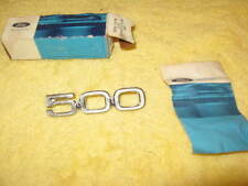 NOS FORD 1971 1972 FORD GALAXIE 500 CUSTOM 500  BADGE D1AZ-54291830-A